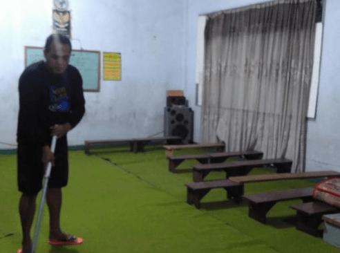 ruang tpq Masjid Jami' Al-Ishlah Kedamaian Bandar Lampung