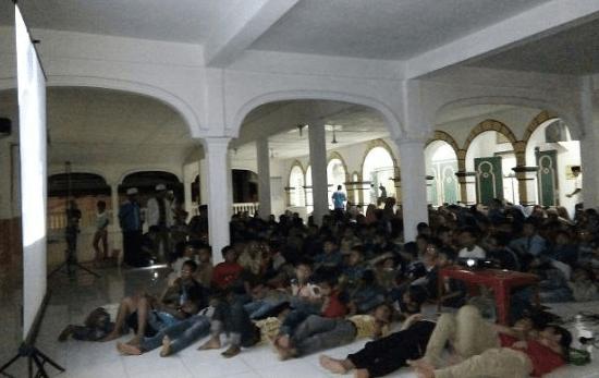 teras Masjid Agung Rantauprapat