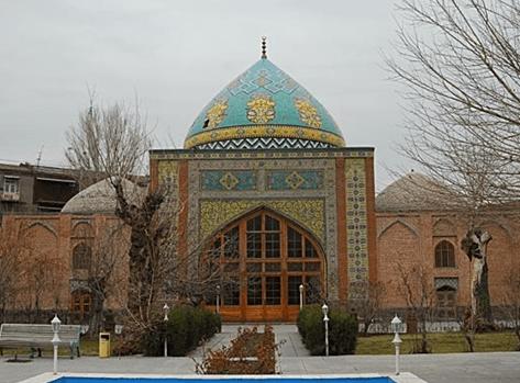 Blue Mosque – Yerevan, Armenia