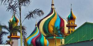 Masjid 'Kubah Pelangi' Al-Furqon Bandara Soekarno-Hatta