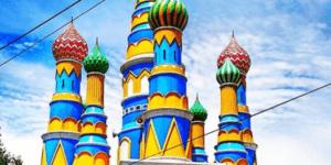 Masjid 'Kubah Pelangi' An-Nurumi Candisari