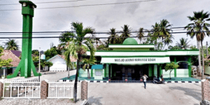 Masjid Agung Nurussa'adah – Tanjung Raja