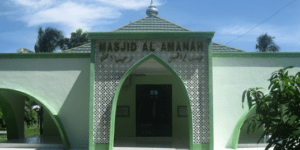 Masjid Al-Amanah Kodim 0421 Lampung Selatan