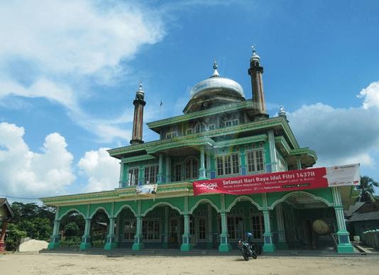 Masjid Al-Hidayah Banjar Agung Tulang Bawang