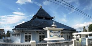 Masjid Al-Ihsan Kota Kayu Sumatera Selatan