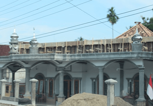 Masjid Al-Muhajirin Desa Suka Pindah
