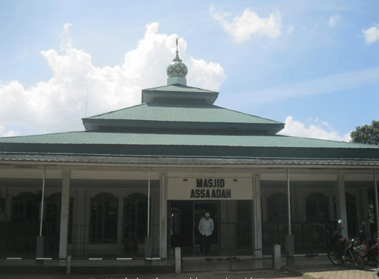 Masjid Assa'adah Polda Sumsel