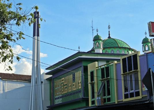 Masjid Jami' Nurul Islam, Pilar Cikarang Utara