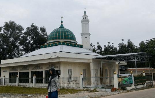 Masjid Jami Tiomsyah Pasir Kupang