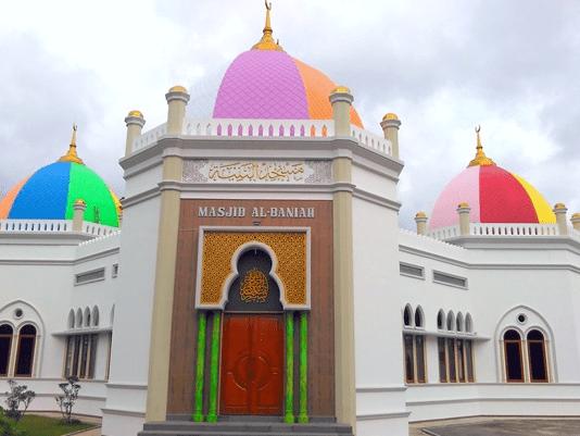 Masjid Kubah Pelangi Al-Baniah Ujan Mas