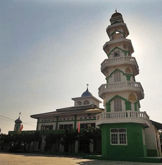 Masjid Nur Al-Anwar, Karya Mulya, Batujaya, Karawang