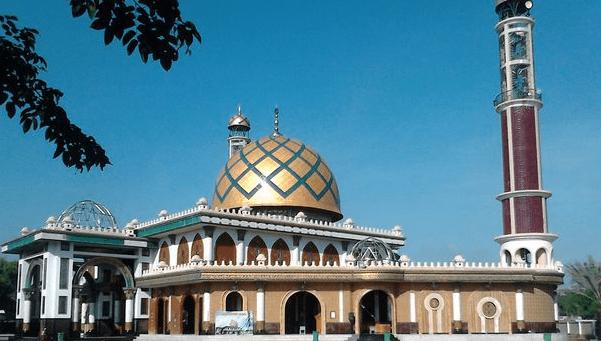 Masjid Syaichona Moch Cholil di Bangkalan