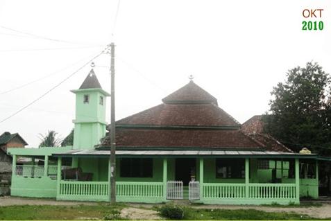 Masjid Tua Talang Menerai – Gelumbang