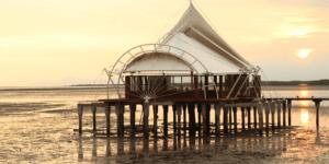 Musholla diatas laut Nurul Bahar Probolinggo