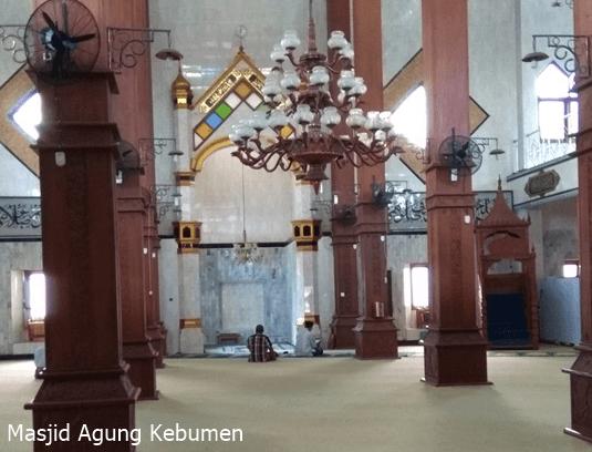 arsitektur Masjid Agung Kebumen