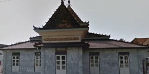 arsitektur Masjid Al-Falah Kutaraya, Kayu Agung