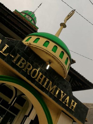 arsitektur Masjid Al-Ibrohimiyah Talagasari, Karawang