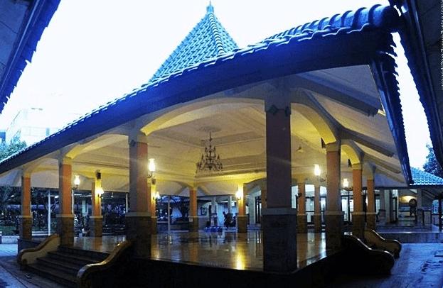arsitektur Masjid At-Taqwa Kantor BPN Cikarang