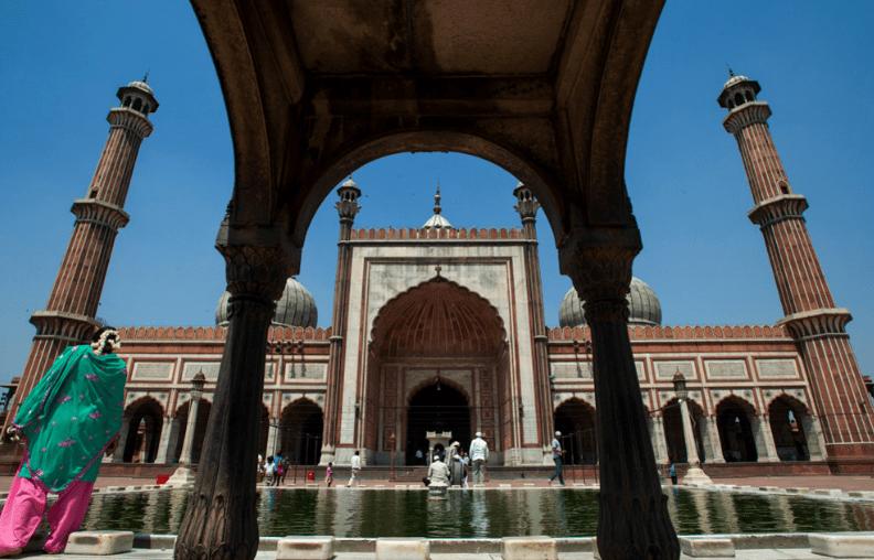 arsitektur Masjid Jama – Masjid Terindah Di India