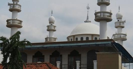 arsitektur Masjid Jami' Nurul A'mal – Kampung Pengkolan