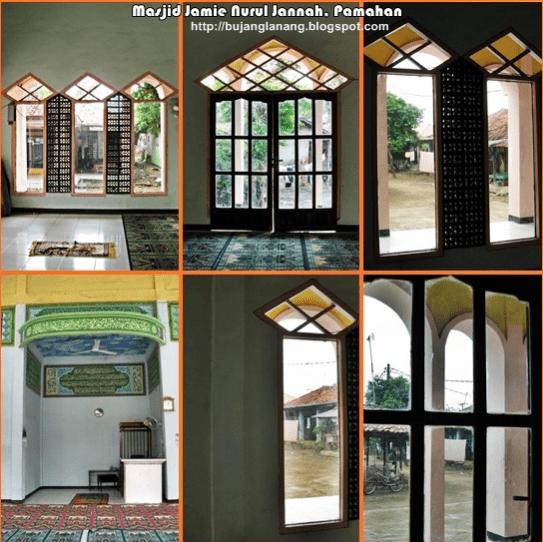 arsitektur Masjid Jami' Nurul Jannah – Masjid merah Muda di Kampung Pamahan