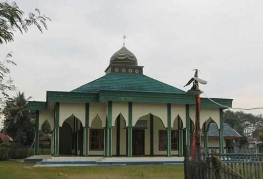 arsitektur Masjid Jamie Al-Ikhlas Bakanraminten