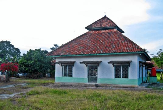 arsitektur kuno Masjid Nurul Huda Kalangan, Gelumbang