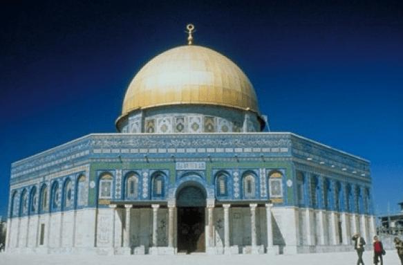 exterior Dome of The Rock Palestina – Masjid Berkubah Pertama di Dunia