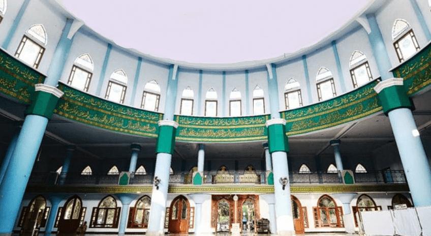 interior Masjid Agung Kota Lumajang