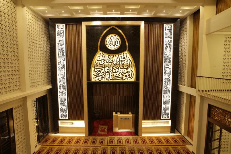 interior Masjid Al-Birru Pertiwi – Bojonegoro