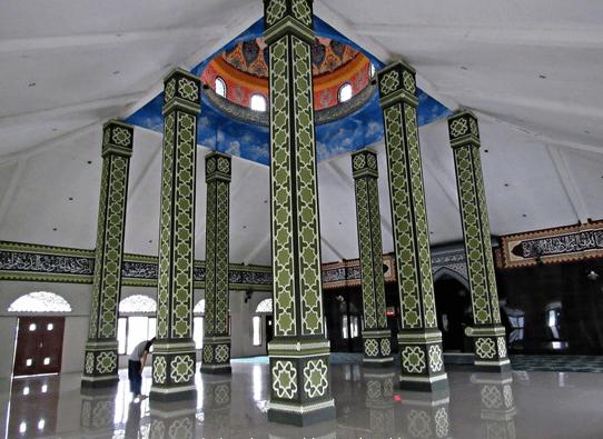 interior Masjid Al-Falah Cariu