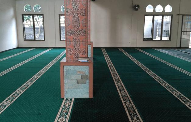 interior Masjid Al-Hidayah Bogor