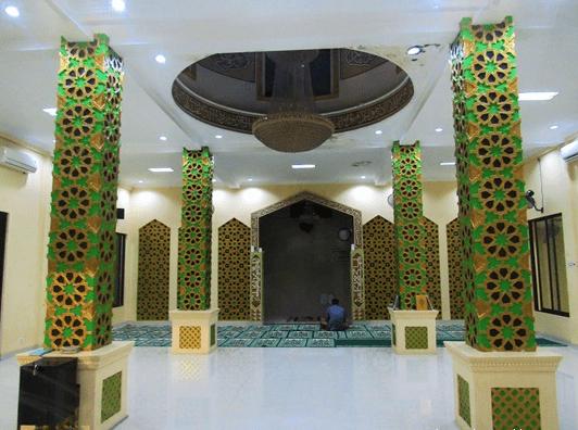 interior Masjid At-Taqwa – Kampung Kukun, Ciantra