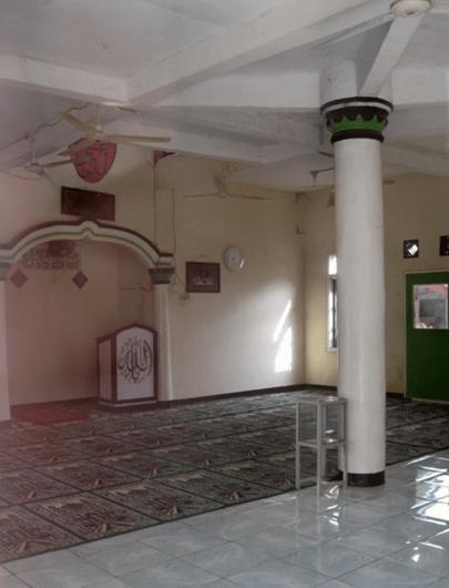 interior Masjid Darul Falah – Kampung Panjalin