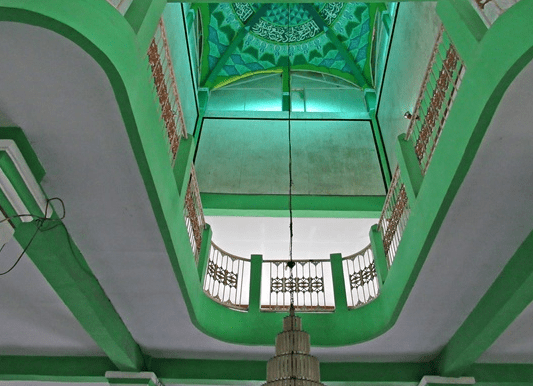 interior Masjid Jami' Nurul Huda Cibucil