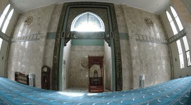 interior Masjid Kubah Biru Ciater