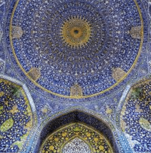 interior Masjid Shah – Isfahan Iran