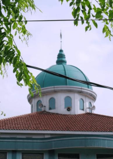 kubah Masjid Al-Muhajirin – Jalan Kancil, Cikarang Baru