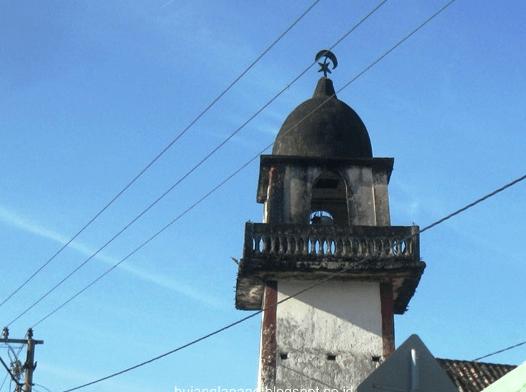 menara Masjid At-Taqwa Desa Tanjung Alai, OKI