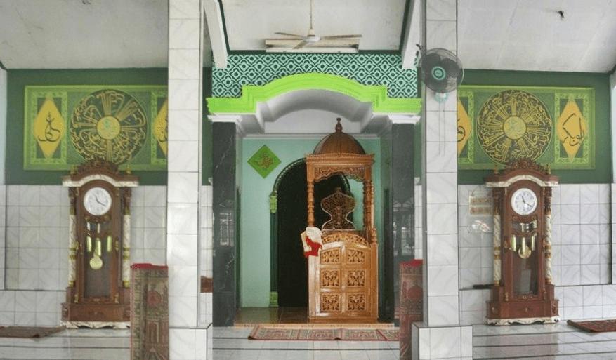mimbar Masjid Jami' Al-Hidayah, Cibatu Cikarang Selatan