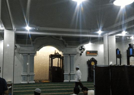 mimbar Masjid Jami' Baitul Muttaqien – Petarukan Pemalang
