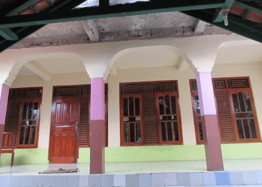 teras Masjid Jami' Baeturrahman – Kampung Lamping