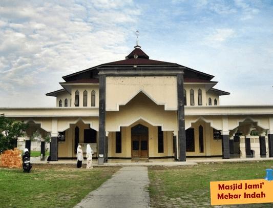 Masjid Jami Mekar Indah, Jababeka