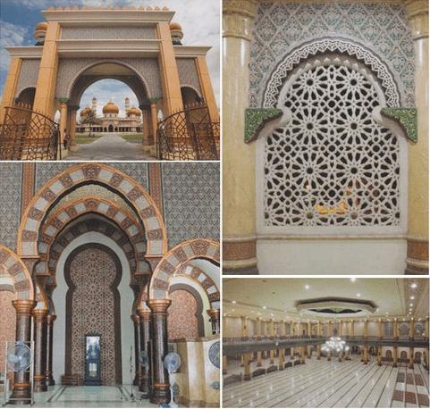 arsitektur Masjid Agung Baitul Makmur Jepara