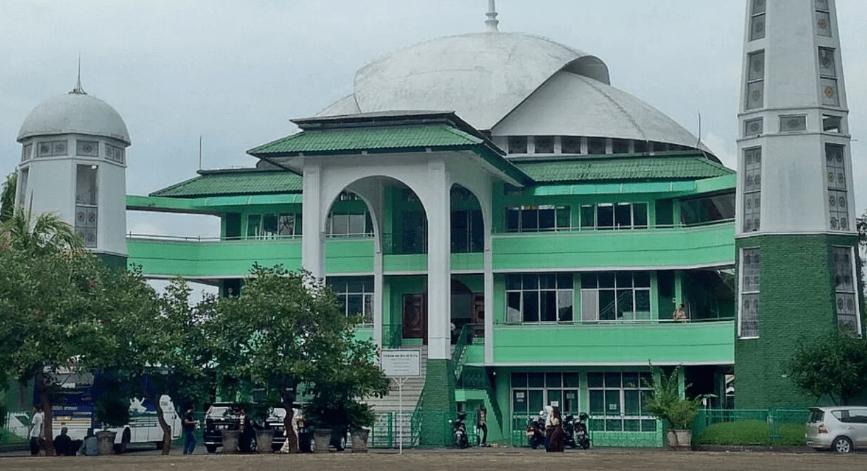 arsitektur Masjid Agung Palabuhanratu