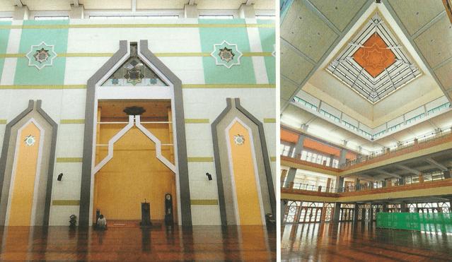 arsitektur Masjid Al-Furqon, Universitas Pendidikan Indonesia