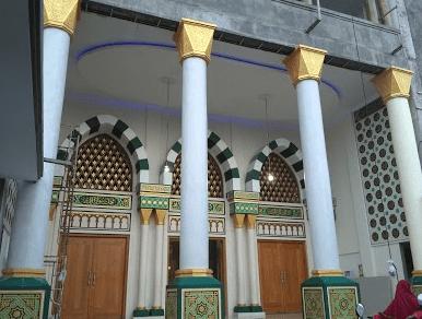 arsitektur Masjid Al-Muhajirin - Kepaon, Denpasar Bali