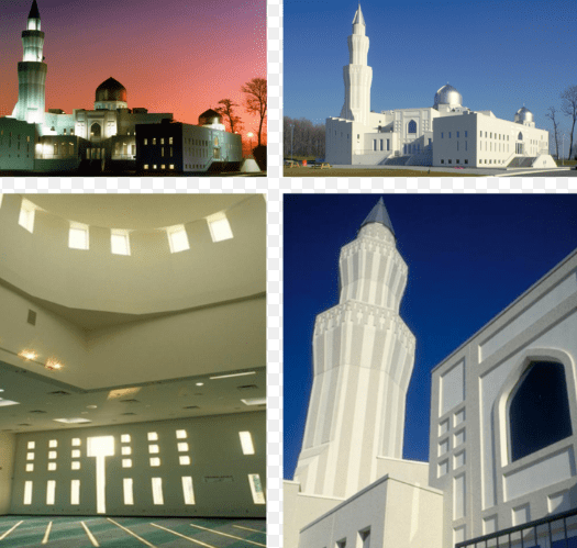 arsitektur Masjid Baitul Islam – Vaughan, Ontario, Kanada