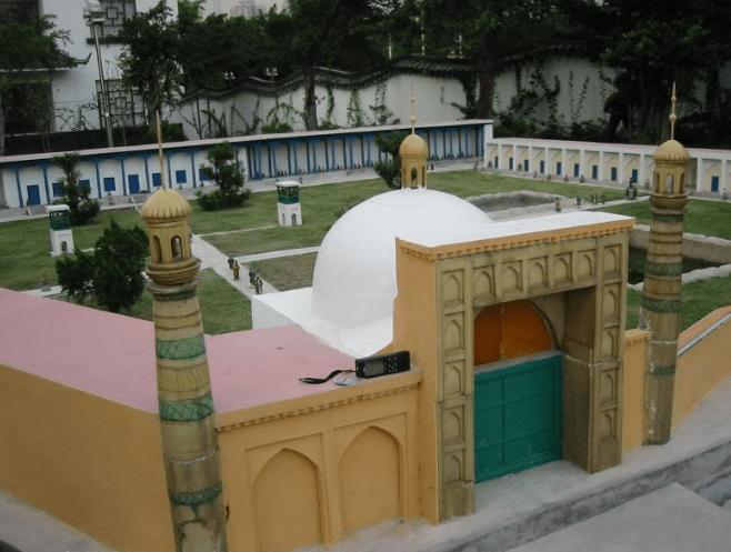 arsitektur Masjid Id Kah - Masjid Terbesar di China