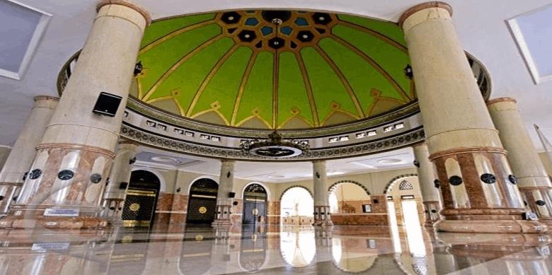 interior Masjid Agung Purbalingga
